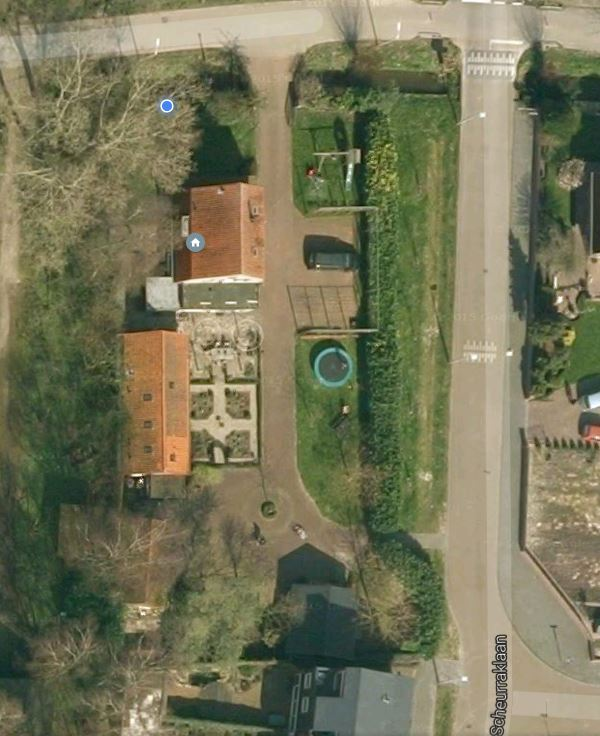 Groenedijk 35 (Google Earth, 2009)