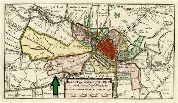 Stadsvrijheid Utrecht 1757