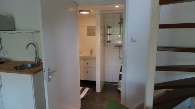 Studio en badkamer